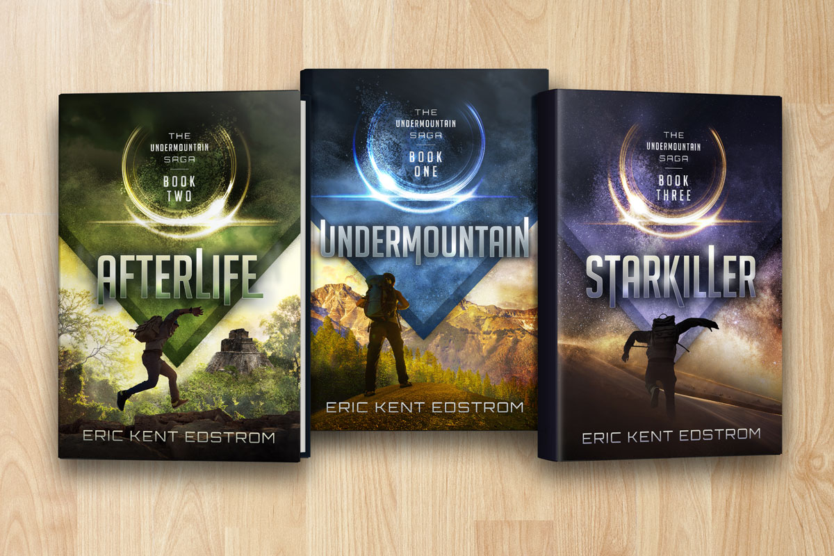 Book Cover Series Games ~ Book series with dust jacket covers psd mockup