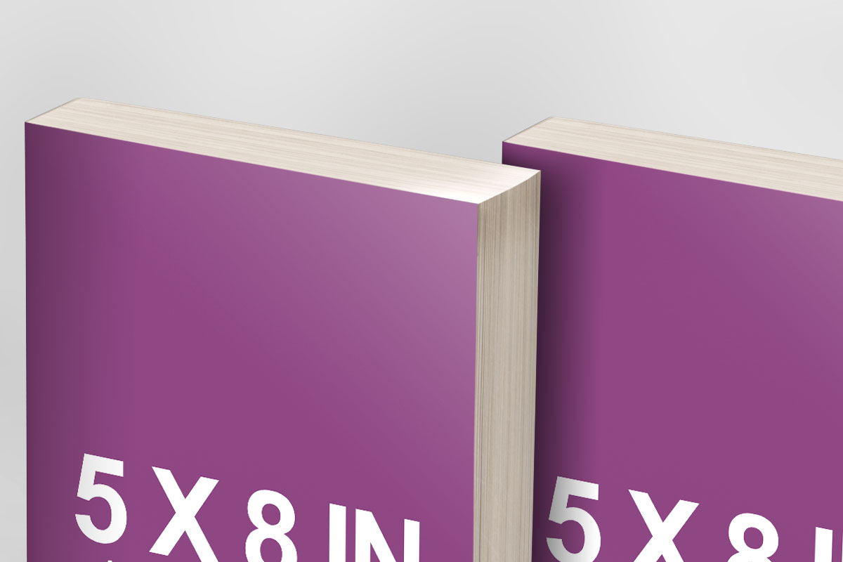 Multi Paperback Book bundle promo Template Mockup PSD