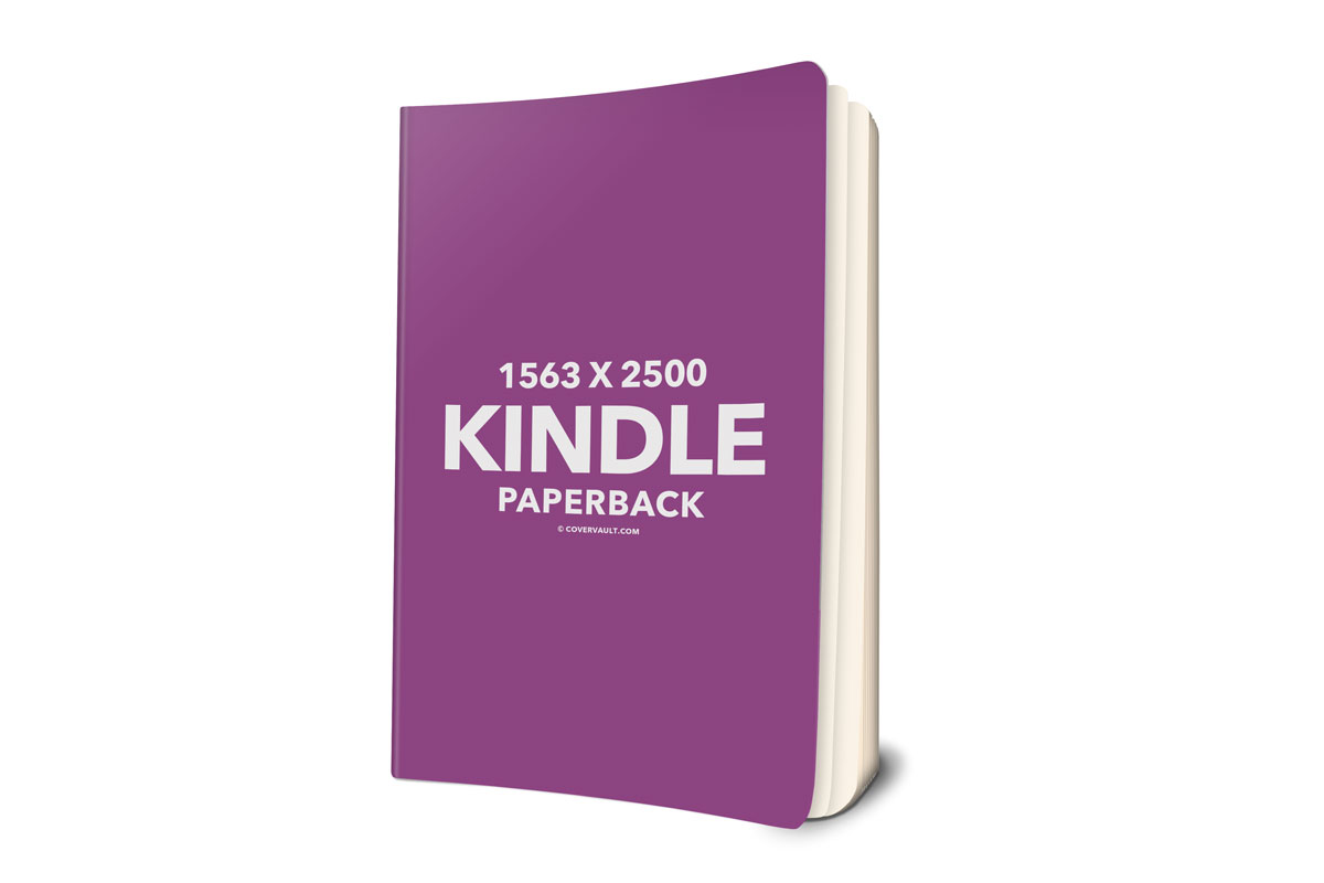 Kindle Paperback Book 3d Mockup Covervault